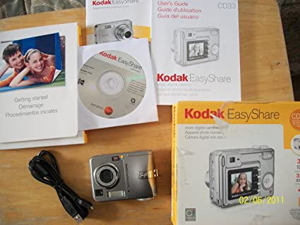 Kodak CD33 Zoom Digital Camera Easyshare Treiber Windows 10