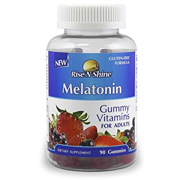Amazon.com: Melatonina adulto Vitaminas de Gominola con 5 mg ...