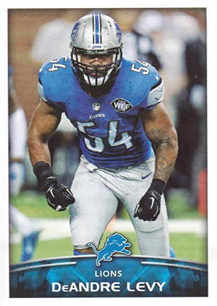 650ae1e4 2015 Panini NFL Football Stickers #311 DeAndre Levy Detroit Lions at ...
