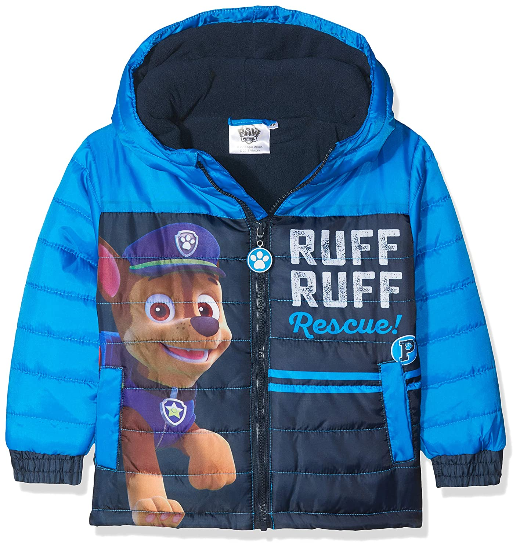 Nickelodeon Boys Paw Patrol Ruff Rescue Coat