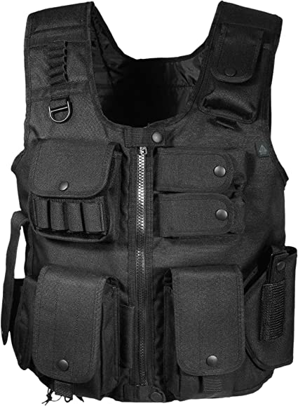 UTG 547 Gilet Tactique Style Agent de Police