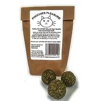 Karla's Cataire Ballon (100% Naturel à Herbe à Chat) Emballé sous Vide pour Plus de Fraîcheur, Fleurs et Feuilles, Catnip 50 grammes