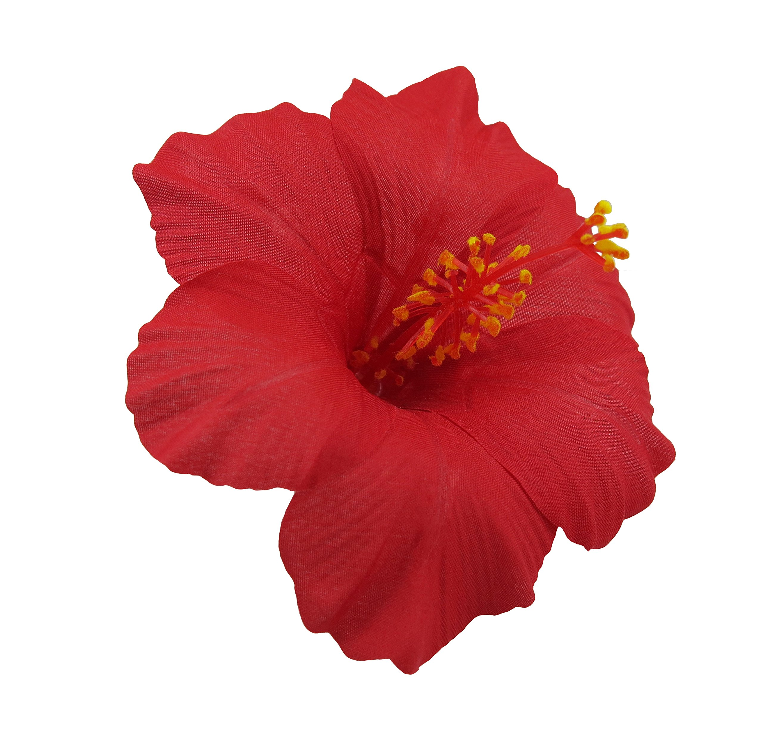 Amazon hawaiian hibiscus flower hair clip red beauty izmirmasajfo