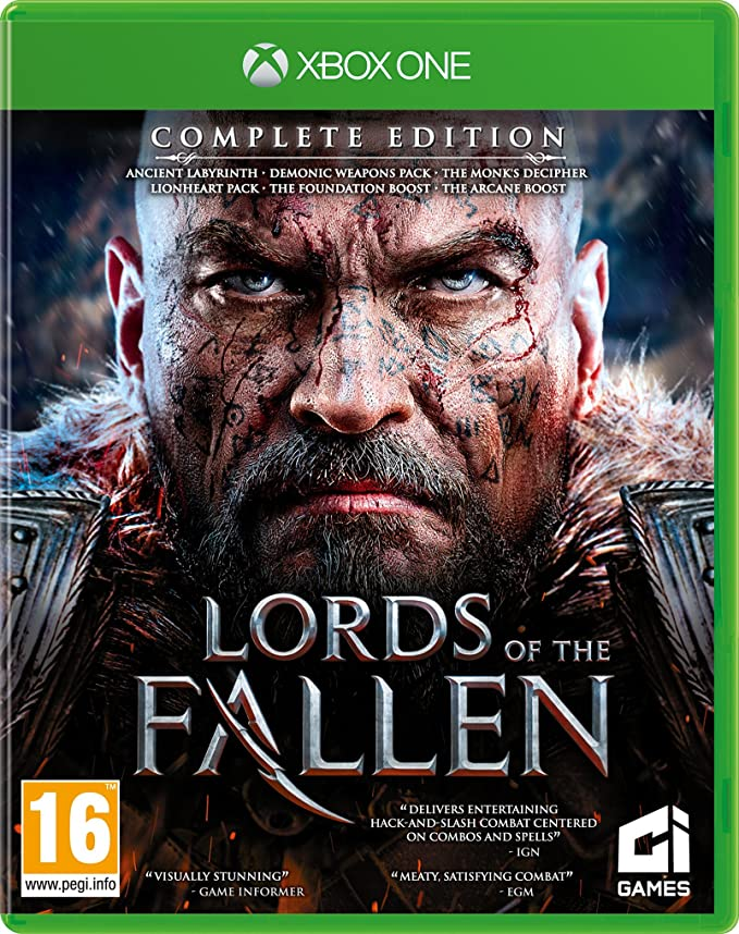 Lords Of The Fallen Complete Edition Xbox One Game: Amazon.es ...
