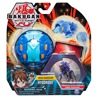 Bakugan Deka, Hydorous, Jumbo Collectible Transforming Figure, for Ages 6 & Up: Toys & Games [5Bkhe0507304]