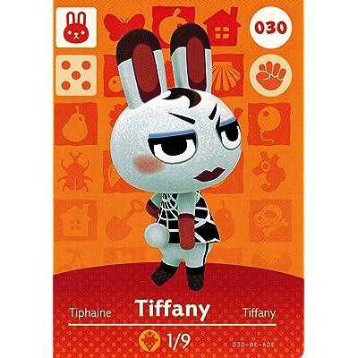 Animal Crossing Happy Home Designer Amiibo Card Tiffany 030/100: Toys & Games