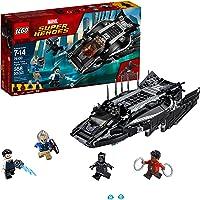LEGO Juego de Construcción Marvel Super Heroes Black Panther Ataque del Caza Real Talon (76100)