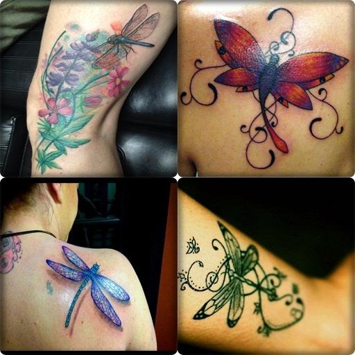 Small Dragonfly Tattoo Ideas