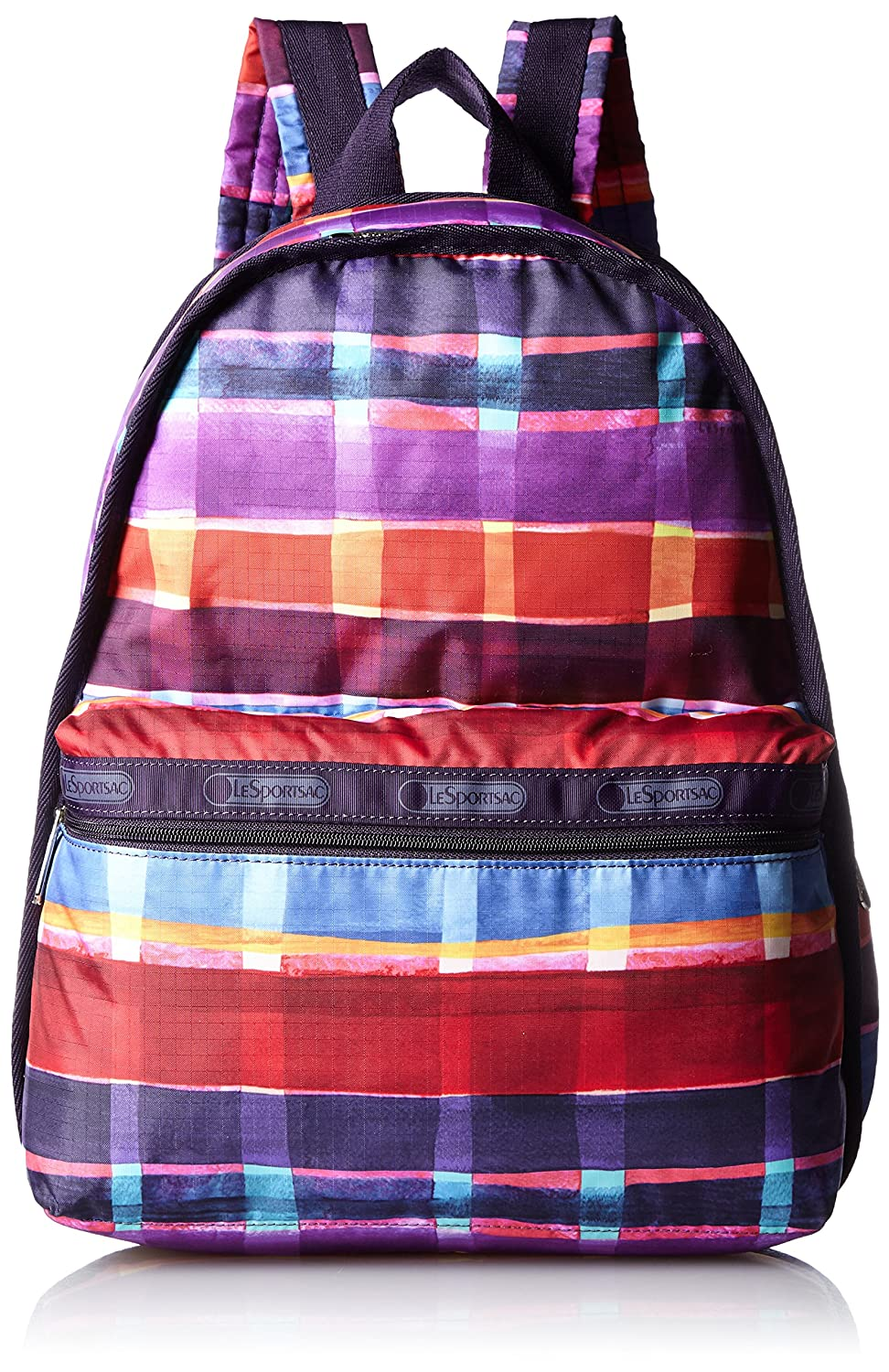 [レスポートサック] リュック (Basic Backpack),軽量 7812 [並行輸入品] B01AT2ZJ4U D533 (Painted Plaid print) D533 (Painted Plaid print)