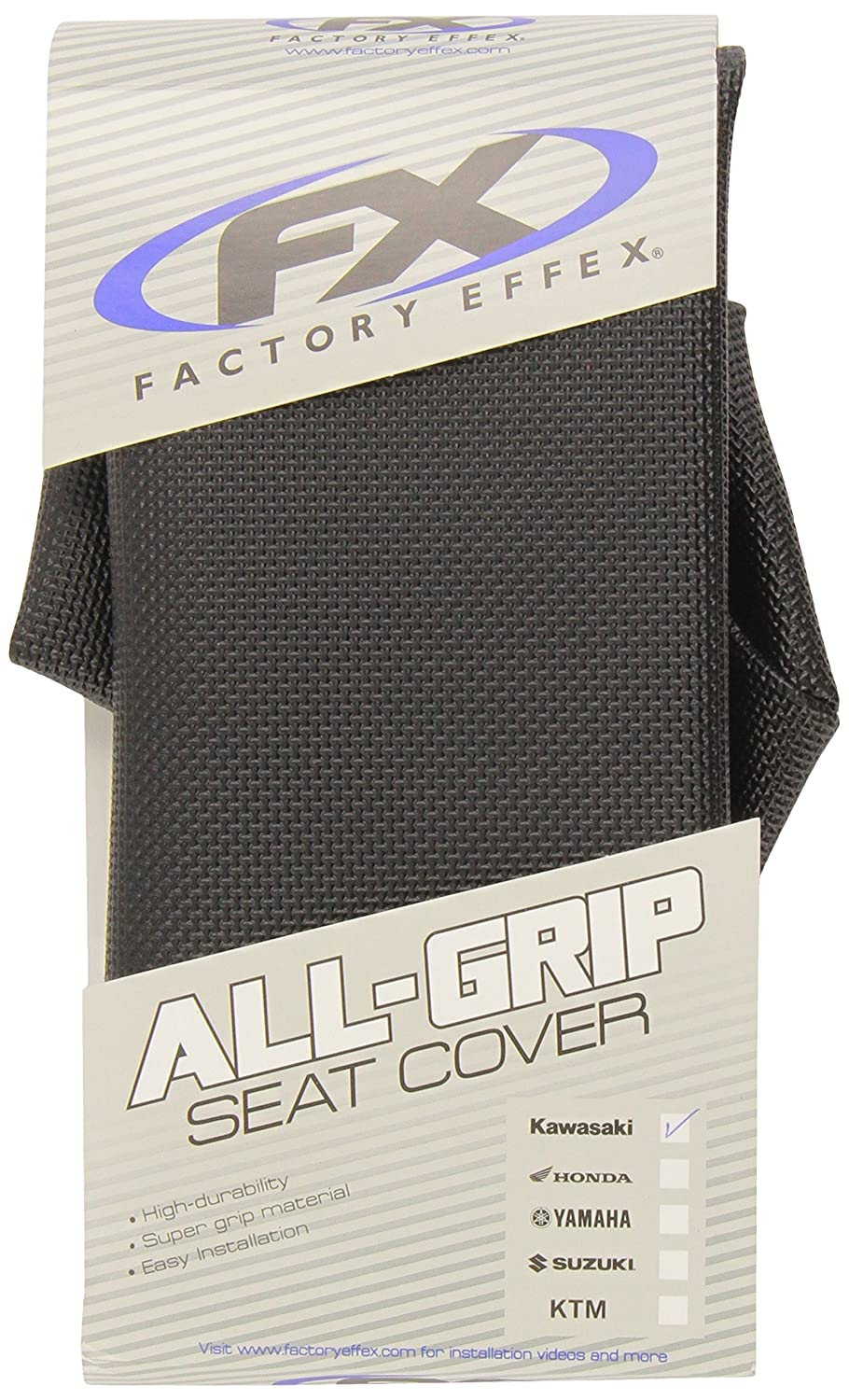07-24110 Black All-Grip Seat Cover Factory Effex
