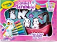 Crayola Scribble Scrubbie Pets Scrub Tub Animal Toy Set, Kids Indoor Activities At Home, Gift Age 3+