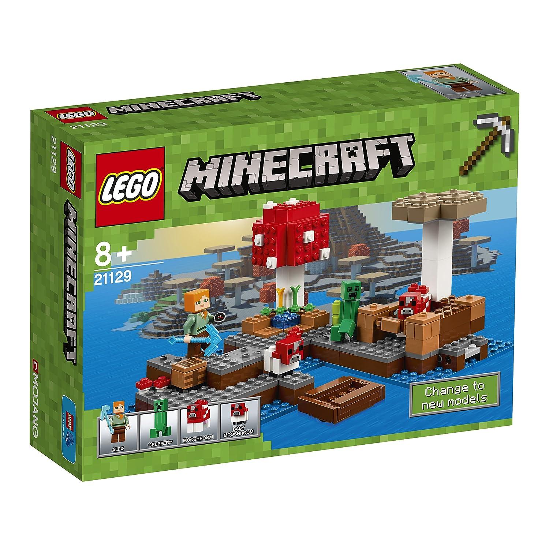 LEGO Minecraft Isla champiñón