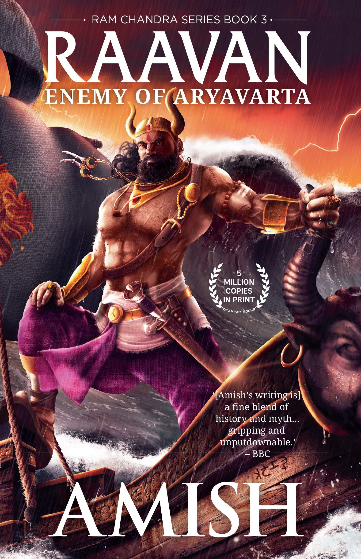 Raavan: Enemy of Aryavarta (Ram Chandra Series - Book 3) (9388754085) Amazon Price History, Amazon Price Tracker