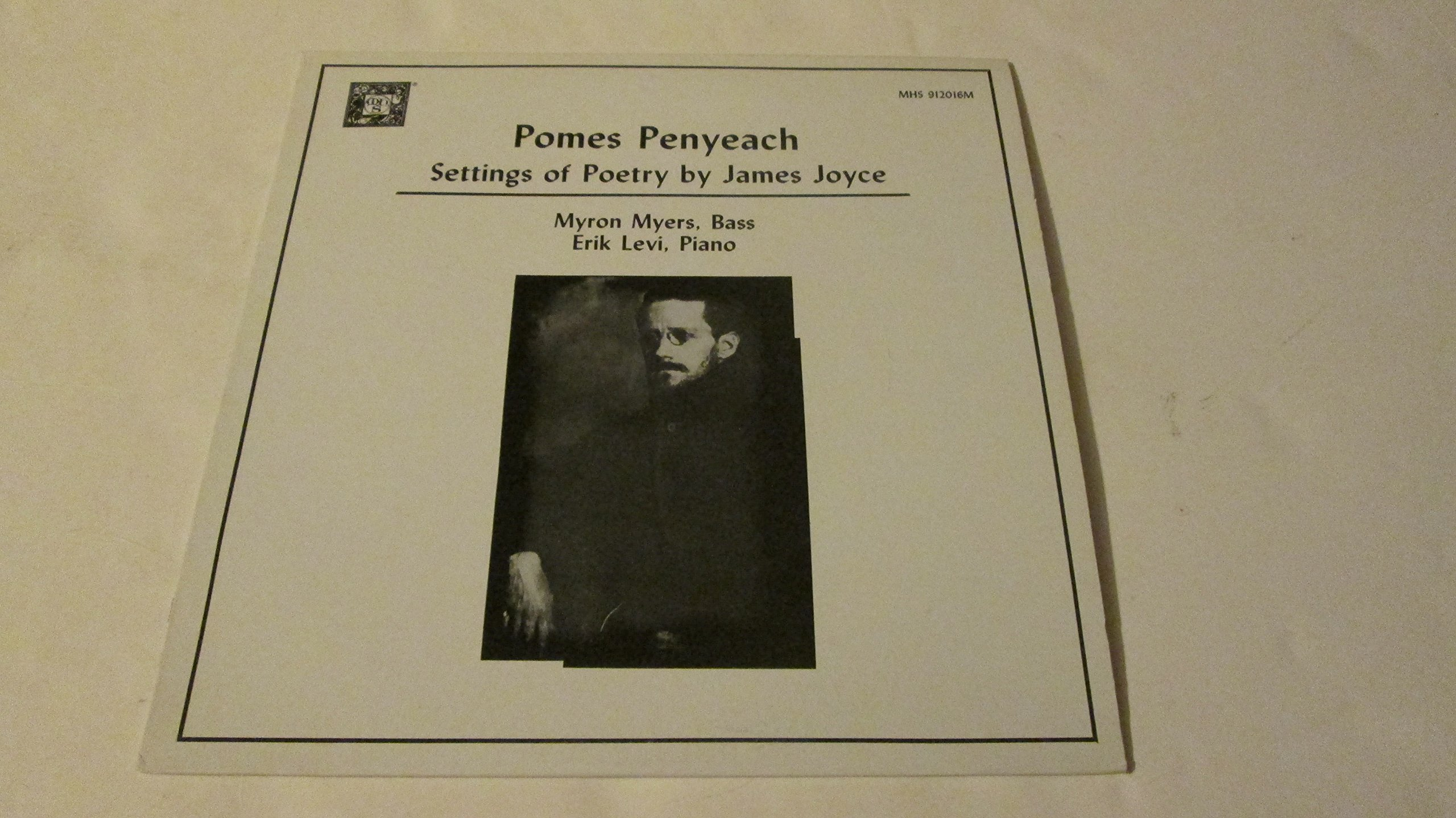 Pomes Penyeach - Settings of Poetry by James Joyce