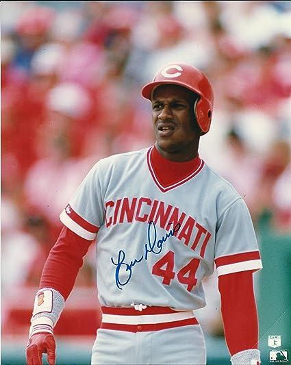 size 40 7901a ddcae Autographed Eric Davis 8x10 Cincinnati Reds Photo at ...