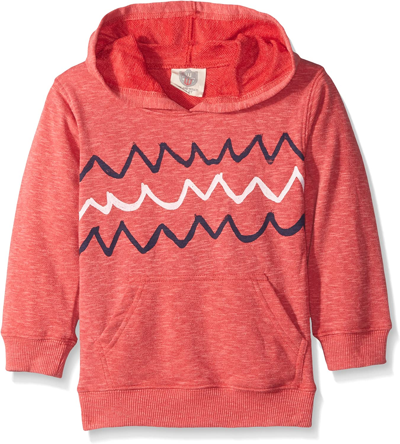 Wes and Willy Boys Blended Wave Hoodie