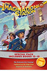 Imagination Station Books 3-Pack: The Redcoats Are Coming! / Captured on the High Seas / Surprise at Yorktown (AIO Imagination Station Books) Paperback