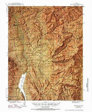Marysvale Utah Map.Amazon Com Yellowmaps Marysvale Ut Topo Map 1 62500 Scale 15 X 15