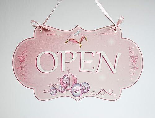 Open/Closed - o abierto/cerrado letrero de madera colgante ...