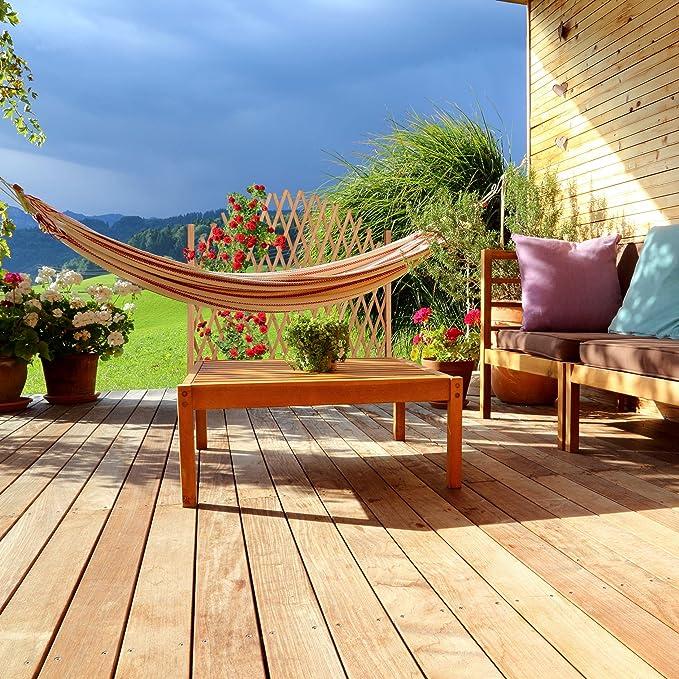 Relaxdays, Marrón Arco para Rosas, Extensible, De pie, Madera, Soporte para Plantas trepadoras, 100 x 165 x 30 cm: Amazon.es: Jardín