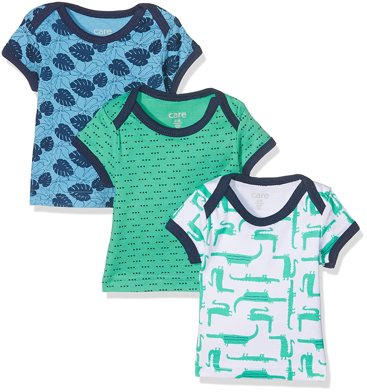 Care Baby-Jungen T-Shirt Bard, 3er Pack Brands 4 Kids A/S 550138