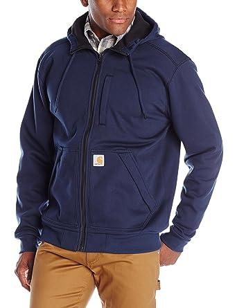 Carhartt Men's Wind Fighter Sweatshirt, Navy, Small