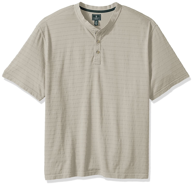 G.H Bass /& Co Mens Big and Tall Jack Mountain Jersey Short Sleeve Henley Henley Shirt