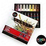 POSCA - PC-5M Skin Tone Set of 8 - In Gift Box
