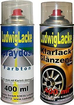 Sprayset Für Bmw Titansilber Farbcode 354 Baujahr 1997 2005 Metallic Lack 2 Spraydosen Ludwiglacke Lack
