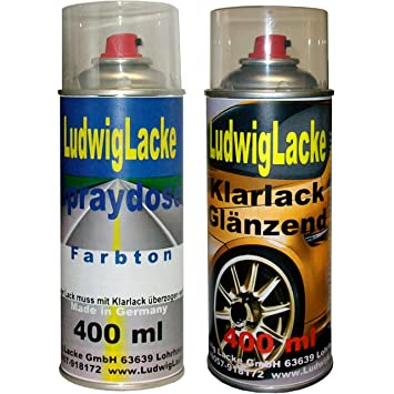 Spray Paint Set For Mercedes Jasper Blue Paint Code 345 Model