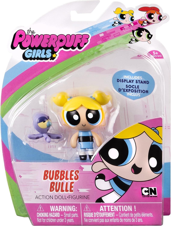 """burbujas con PET Pulpo Las Chicas Superpoderosas 2/"""" Acción Muñeca"""