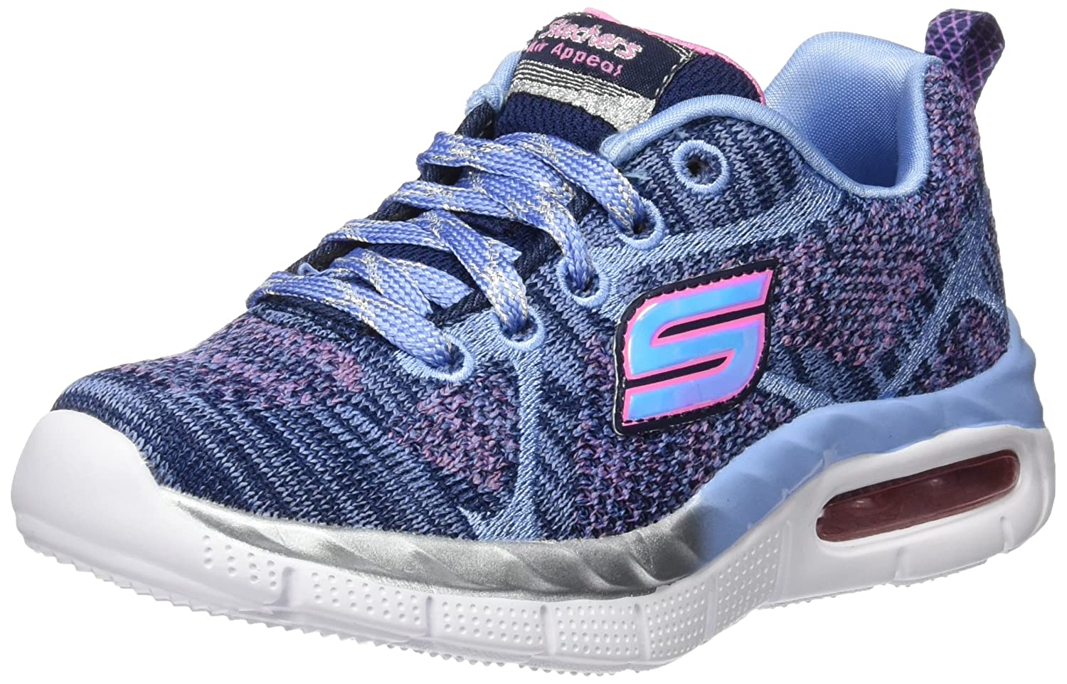 Skechers Mädchen Air-Appeal-Breezy Bliss Sneaker: Amazon.de: Schuhe ...