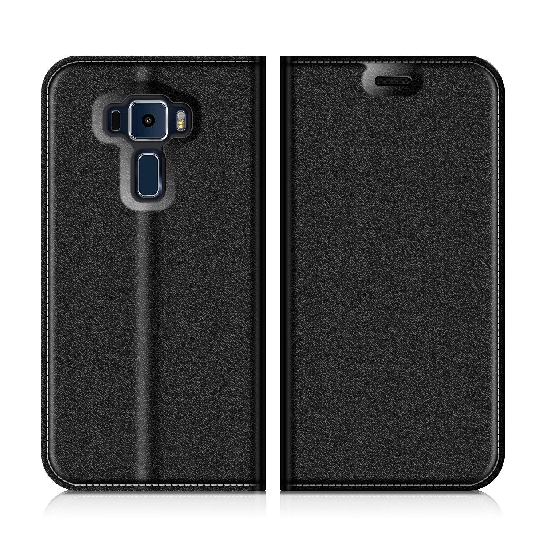new concept 3c7de d6f71 Asus Zenfone 3 ZE520KL Wallet Case, Mobesv Zenfone 3 ZE520KL Leather  Case/Phone Flip Book Cover/Viewing Stand/Card Holder for Asus Zenfone 3  ZE520KL, ...