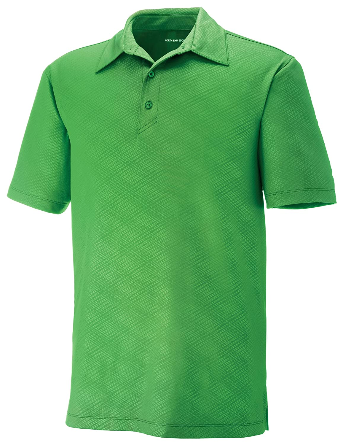 Valley Green XL Mens Maze Mens Performance Stretch Embossed Print Polo Shirt