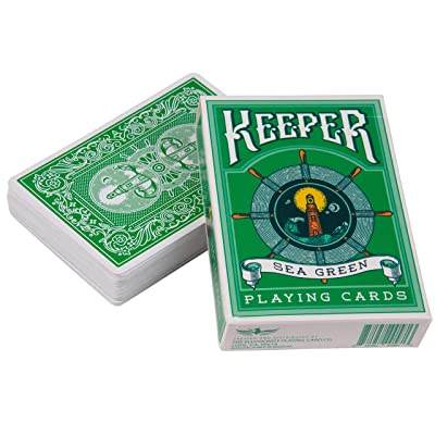 Ellusionist Keepers Playing Cards Deck - Green: Sports & Outdoors