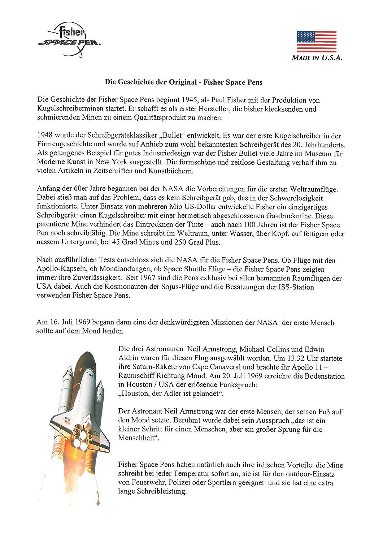 Fisher Space Pen 400 400 400 CL Medium schwarz 1Stück (I) – Stift, Schwarz, Chrom, Medium, 1 Stück (S) B005YVQH34 | Verrückter Preis  fd39cd