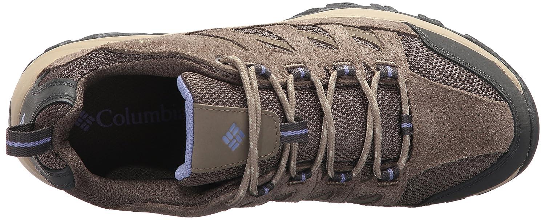 Columbia Women's Crestwood Hiking Shoe B01NASRLJL 12 B(M) US|Mud, Fairytale