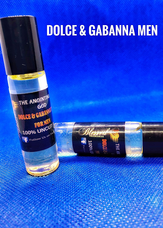 Fragrance Oil-Dolce & Gabbana Men Type Roll On Cologne-10ml.-Long Lasting-Alcohol Free