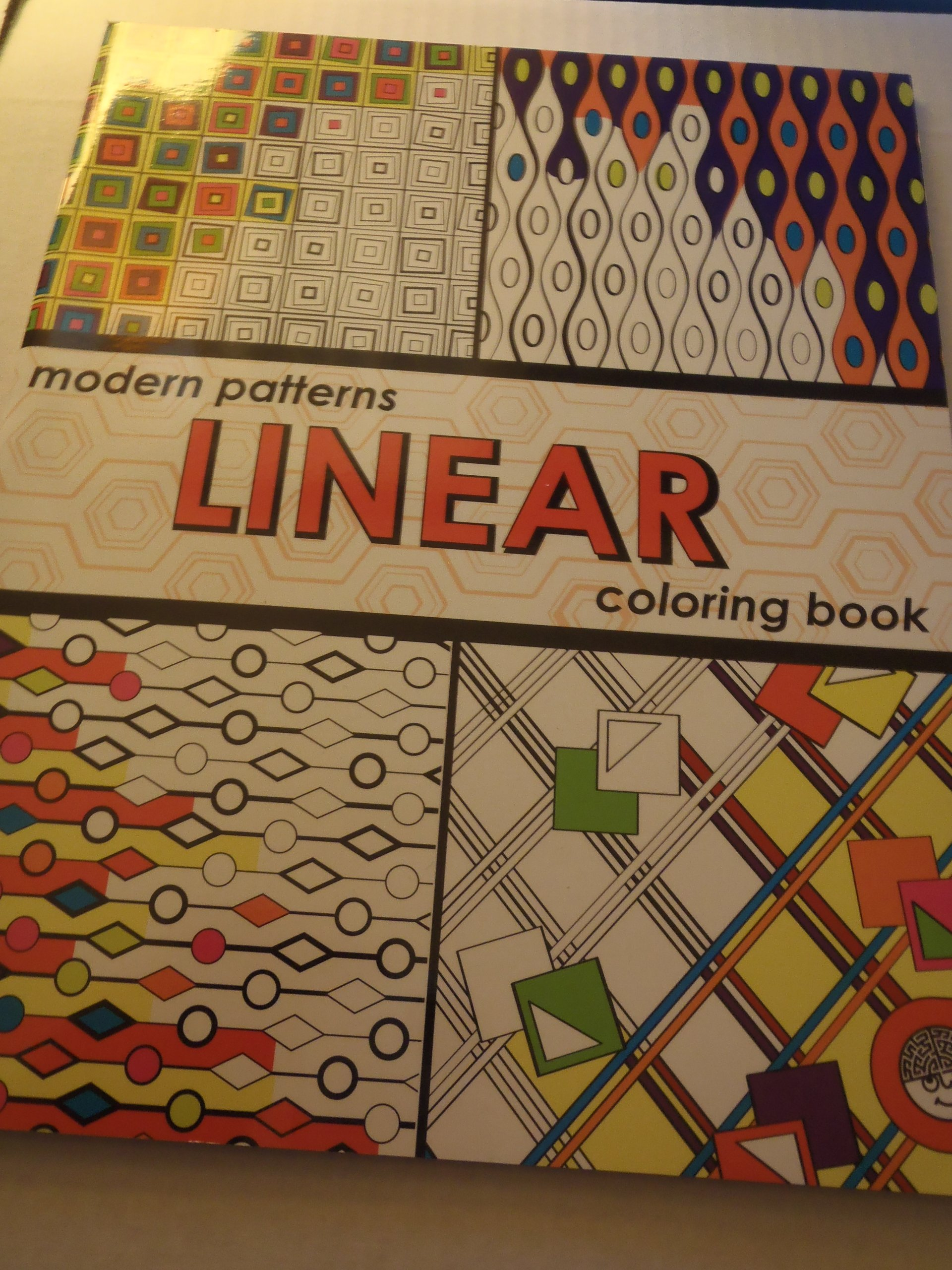 linear modern patterns coloring book mindware 9781933054247 amazoncom books - Modern Patterns Coloring Book
