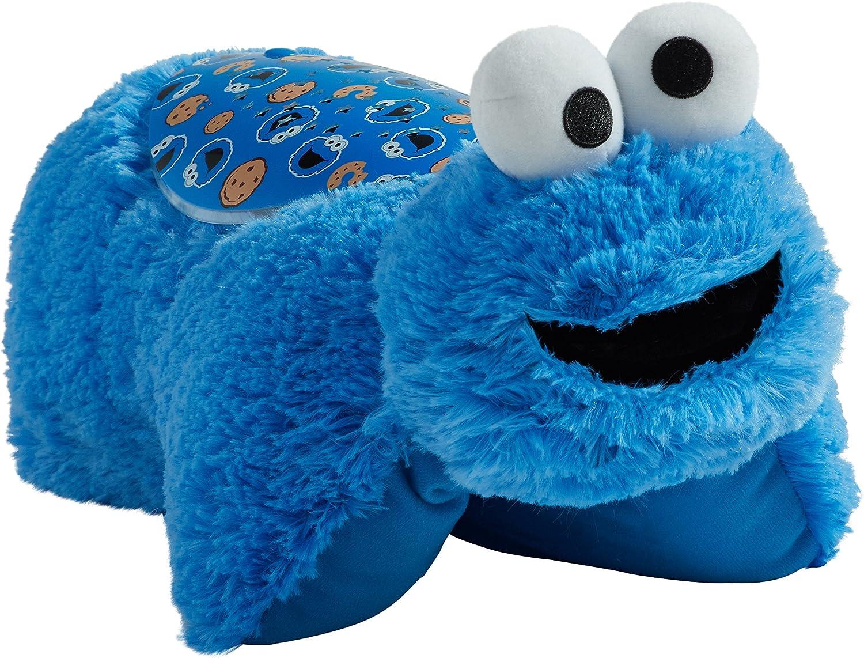 Amazon Co Jp 枕ペット クッキーモンスター スリープタイム ライト セサミストリートぬいぐるみ おもちゃ