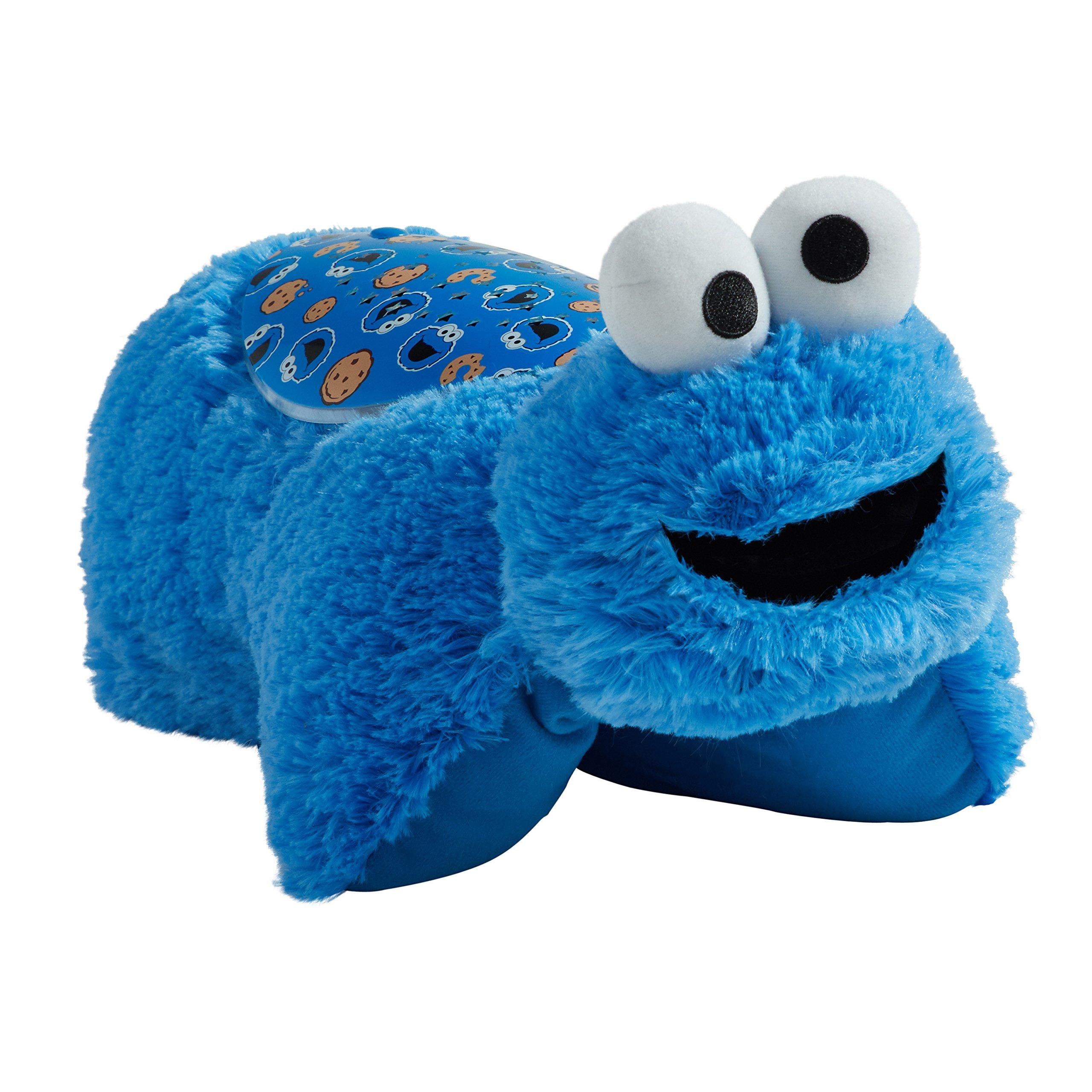 Pillow Pets Cookie Monster Sleeptime Lite - Sesame Street Plush by Pillow Pets