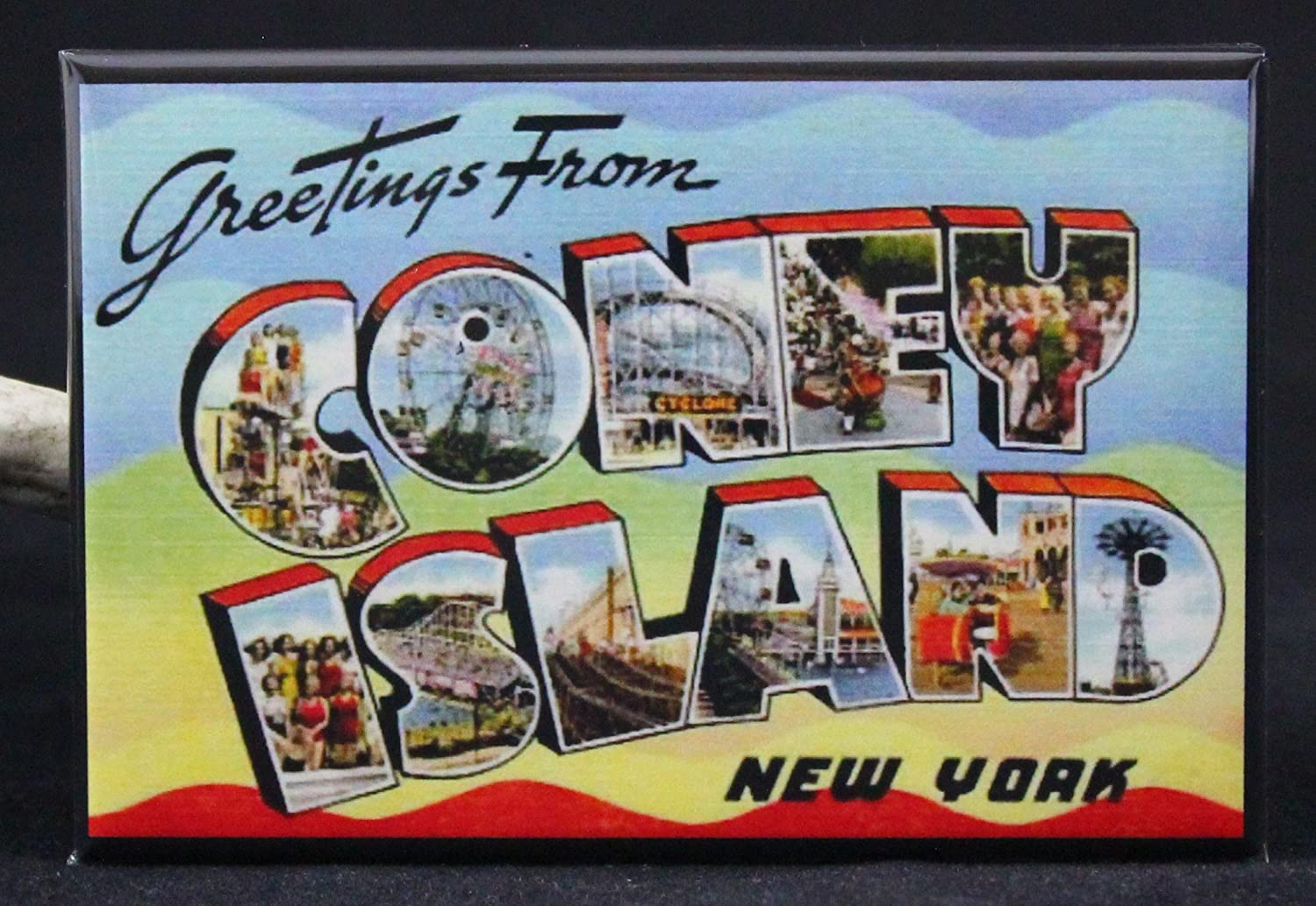 Amazon Greetings From Coney Island Refrigerator Magnet