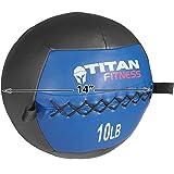 Titan 10 lb Wall Medicine Ball Core Workout