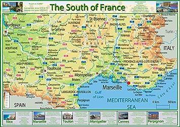 Mapa Sur De Francia Ciudades.Mapa Sur Francia Detraiteurvannederland