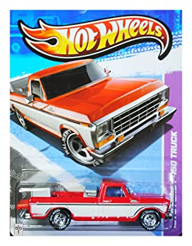 Hot Wheels Walmart Exclusive Super Treasure Hunt 1979 Ford F-150 Truck Red White by