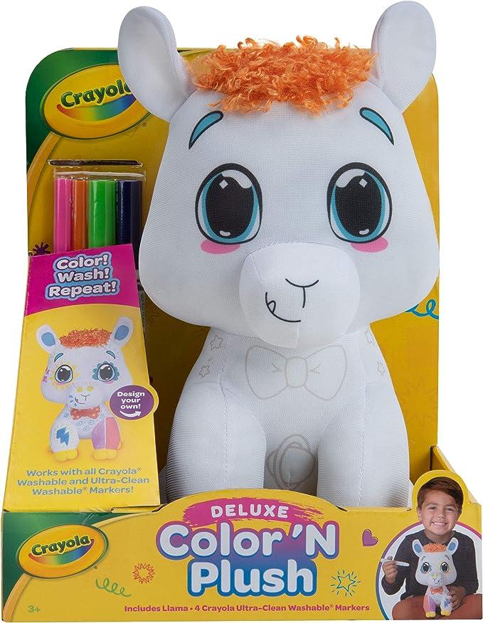 Crayola Deluxe Color 'N Plush Llama