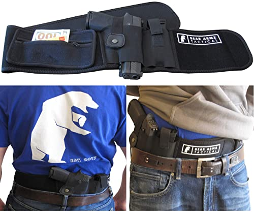 Bear Armz Tactical Belly Band Holster for Concealed Carry