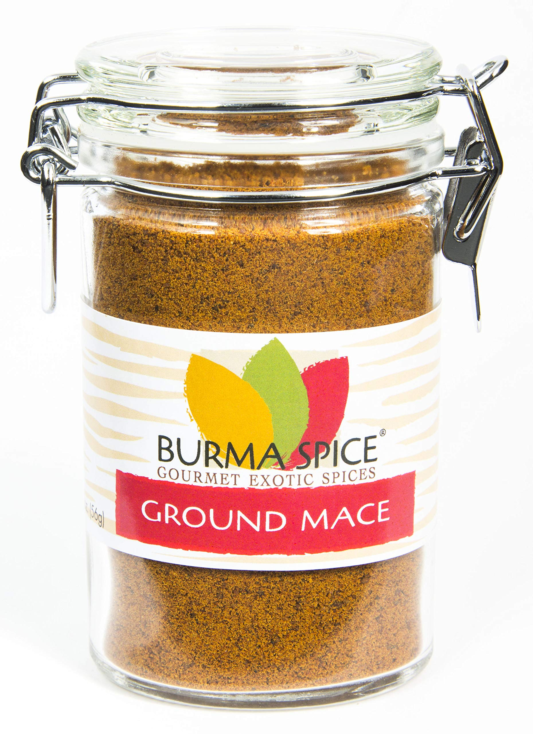 Ground Mace (Javathri) Natural Aromatic Pure Loose Herb Spice (1.9 oz.)