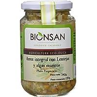 Bionsan Arroz Integral con Lentejas y Algas Ecológico
