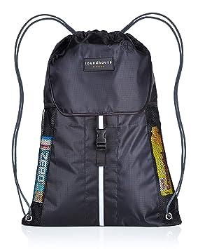 b4c31ec02f4f Premium Quality 5 Pocket Waterproof Unisex Gym sack Drawstring Bag Swimming  Bag School PE Sackpack Backpack